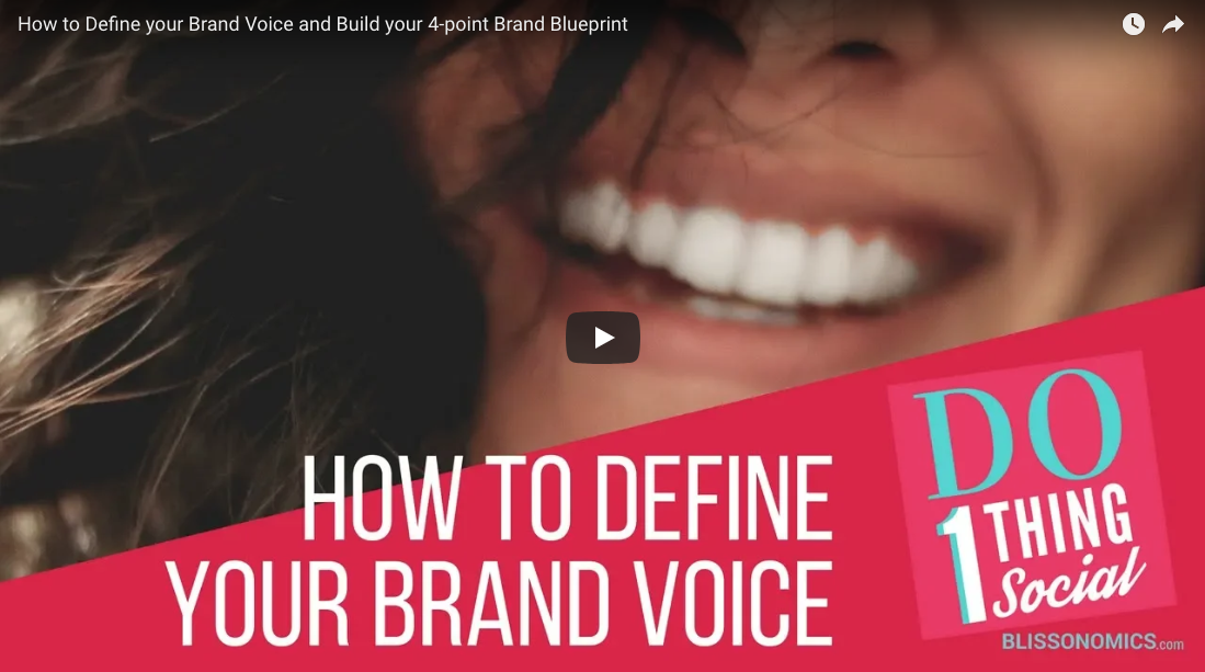 How to define your brand voice and build your 4 point brand how to define your brand voice and build your 4 point brand blueprint malvernweather Choice Image