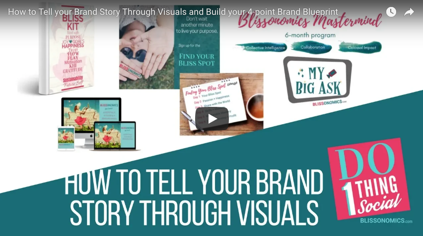 How to tell your brand story through visuals and build your 4 point how to tell your brand story through visuals and build your 4 point brand blueprint malvernweather Images